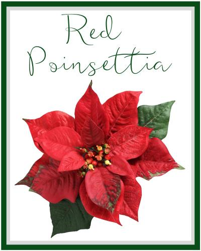 Red Poinsettia Anchorage Ak Florist Same Day Flower Delivery